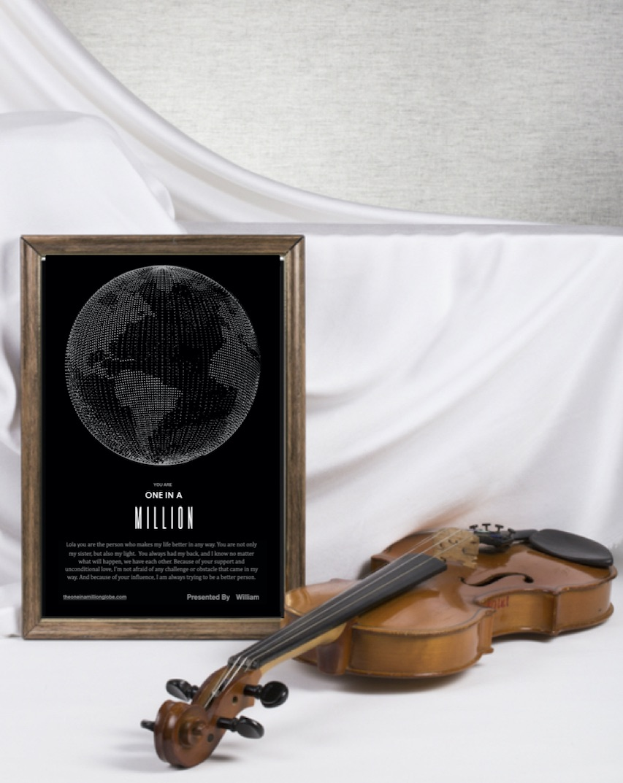 Image of a unique gift.